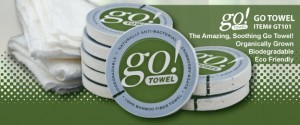 New Eco-Friendly Bamboo Compressed Towel Can be Imprinted With Any Logo