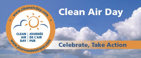 June 8th is Clean Air Day... in Canada.  Why Not Also in US?