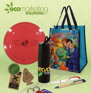 Brand your company with environmentally friendly promotional items