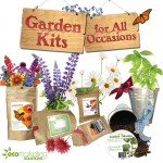 Increase brand recognition with imprinted garden kits.