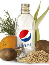 plant-based bottle from Pepsi
