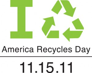 Promote recycling awareness during America Recycles Day