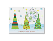 Seeded Holiday Cards