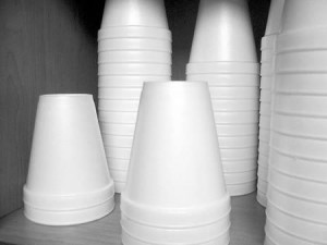 Do not support restaurants and businesses that still use disposable cups.