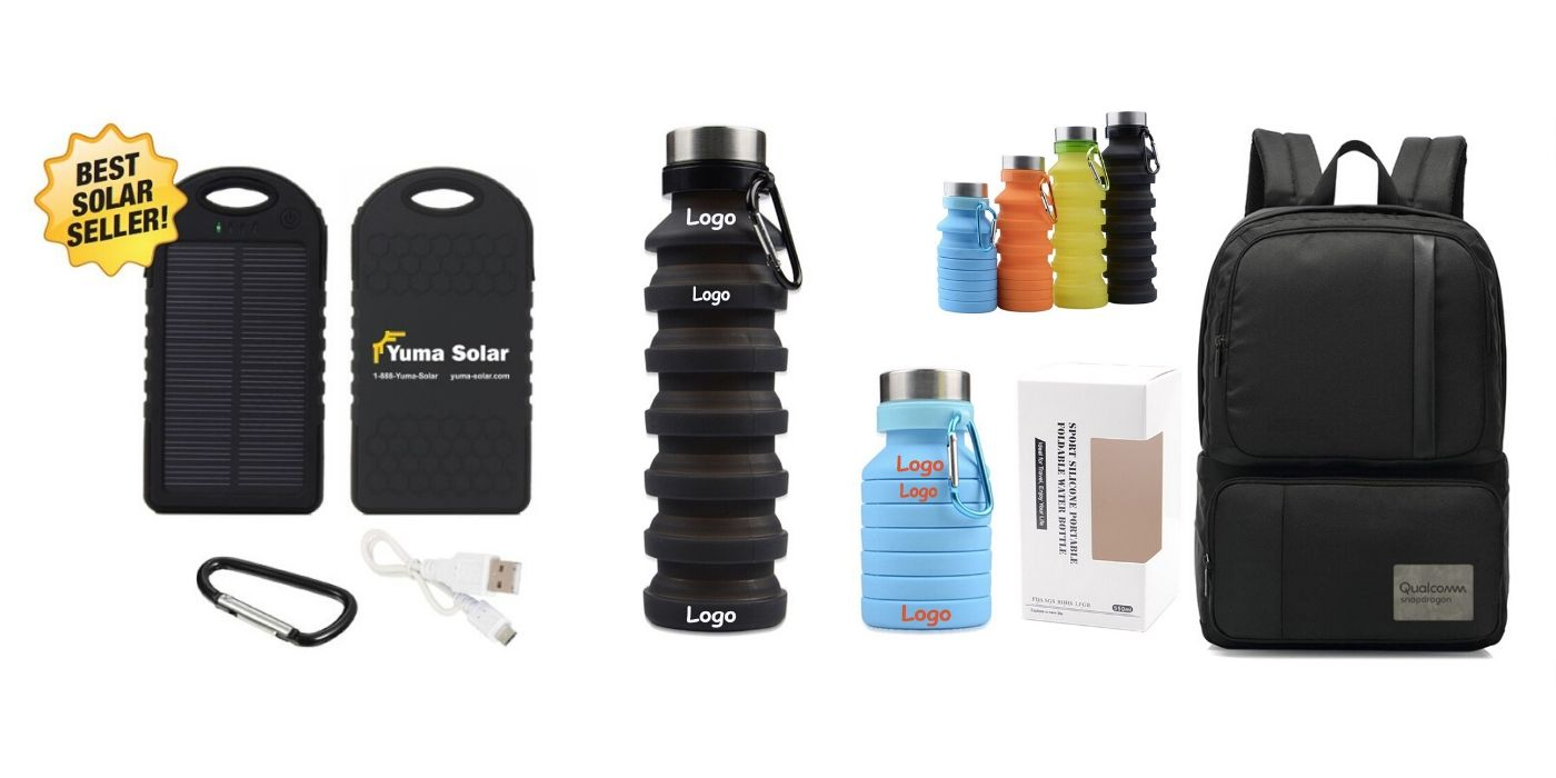 eco charger bottle backpack