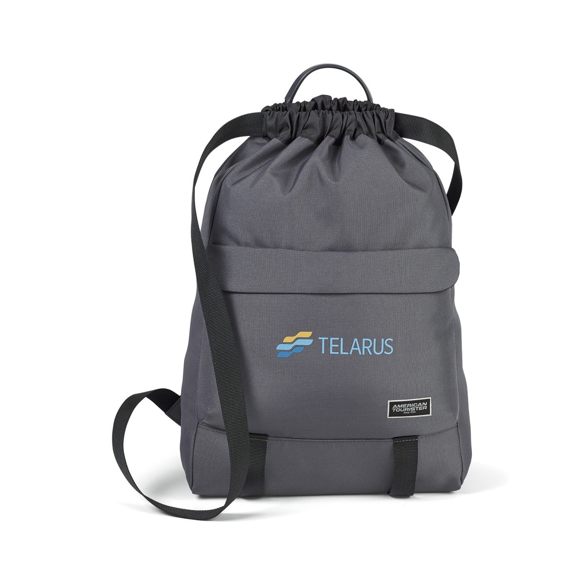 eco-friendly backpack with logo