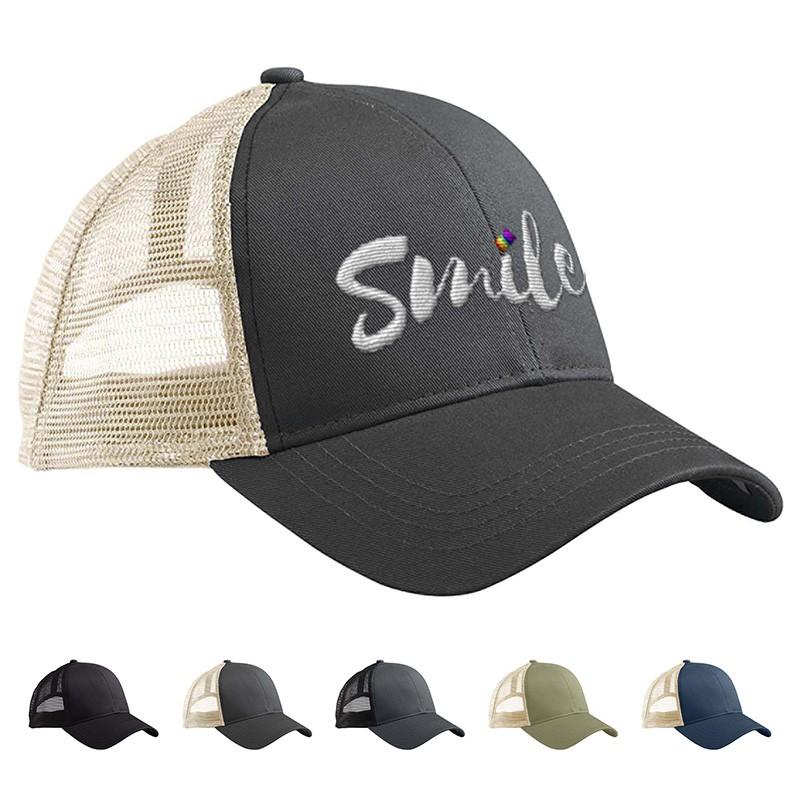 eco-friendly trucker hat cap with logo