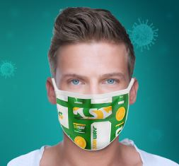 custom printed face masks to protect employees and customers