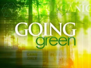 Going Green: It's a Year-Long Commitment..Every Year