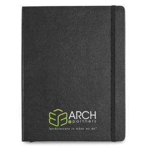 Imprinted Extra Large Hard Cover Notebook