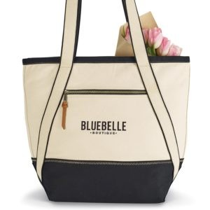 Cotton Boat Tote with Logo