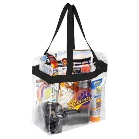 Promote Safety - & Your Brand - With Clear Bags