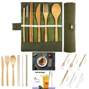 Eco-Friendly Reusable Travel Cutlery Set