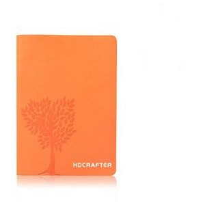 PU Leather Cover Paper Notebook