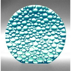 Aqua Blue Raindrop Preservation Award - Recycled Glass